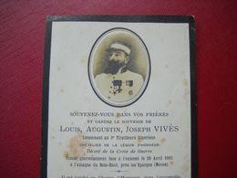 Avis De Deces,tirailleur Algerien  Mort Pour La France En 1915 à Bois Haut Pres Les Eparges Meuse . - 1914-18