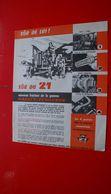 Ancienne Pub,prospectus Tracteur Massey-Ferguson 21 - Publicités