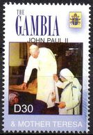 Gambia  - 1v - MNH - John Paul II & Mother Teresa - Mutter Teresa - Papes Pape Giovanni Paolo II E Madre Teresa Pope Pop - Mère Teresa