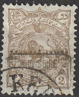 Perse Iran 1902 N° 89A Lion Surchargé  (G15) - Iran