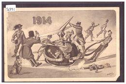 GUERRE 14-18 - HUMOUR - PAR GANTNER - B ( 1 COIN COUPE ) - Humoristiques