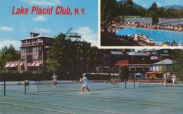 Lake Placid N.Y. - Tennis Court [KM-029 - Tennis