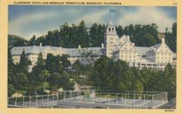 Berkeley - Claremont Hotel - Tennis Court [KM-047 - Tennis