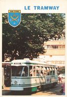 Tram Tramway Saint Etienne  CPM - Tram