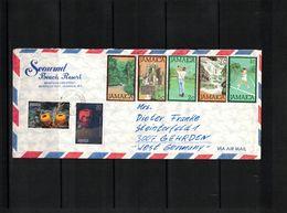 Jamaica Interesting Airmail Letter - Jamaica (1962-...)