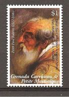 GRENADA/CARRIACOU - 1997 PETER RUBENS Particolare Di S. WILLIBRORD In Adorazione Nuovo** MNH - Religious