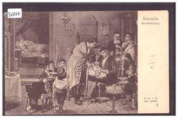 BRISMILO - SCENE OF JEWISH LIFE IN FRANKFURT BY HERMANN JUNKER - TB - Jodendom