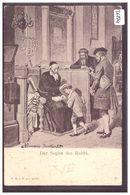 DER SEGEN DES RABBI - SCENE OF JEWISH LIFE IN FRANKFURT BY HERMANN JUNKER - TB - Jodendom