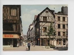 Rouen Rue Des Carmes, Voie Piétonne, Maisons à Colombages - Calendriers