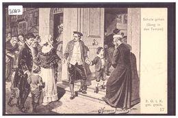 SCHULE GEHEN - SCENE OF JEWISH LIFE IN FRANKFURT BY HERMANN JUNKER - TB - Jodendom