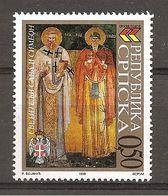 SERBIA - 1999 ICONA SANTI Nuovo** MNH - Religious