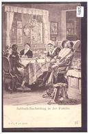 SABBATH IN DER FAMILIE - SCENE OF JEWISH LIFE IN FRANKFURT BY HERMANN JUNKER - TB - Jodendom