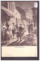 NEUMONDGEBET - SCENE OF JEWISH LIFE IN FRANKFURT BY HERMANN JUNKER - TB - Jodendom