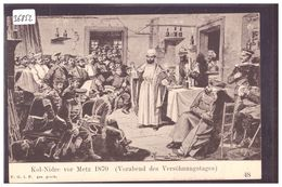 KOL-NIDRE VOR METZ 1870  - SCENE OF JEWISH LIFE  BY HERMANN JUNKER - TB - Judaisme