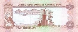U.A.E. P.  7a 5 D 1982 UNC - United Arab Emirates