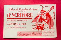 Buvard ENCRIVORE, Encre ANTOINE, Diable, Modèle Rouge - Papeterie