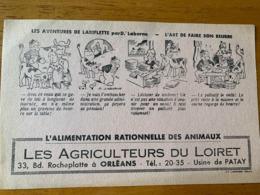 1 BUVARD LES AGRICULTEURS DU LOIRET - Agriculture