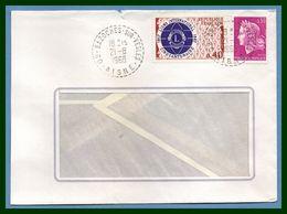 Bazoches Sur Vesles (Aisne 02 ) Type B 9 1968 / N° Cheffer + 1534 Lions Club - Manual Postmarks