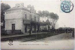 LA GARE - VILLENEUVE La GUYARD - Otros Municipios