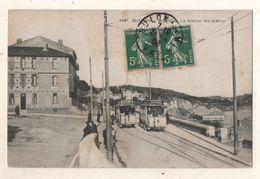 Toulon Mourillon La Station Ste Hélène  Tramways - Toulon