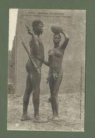CARTE POSTALE AFRIQUE OCCIDENTALE FEMME SEINS NUS  COUPLE DE BOBOS - Senegal