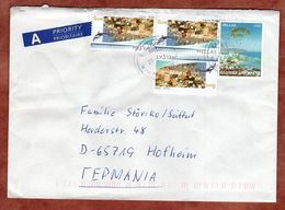 Brief, Landschaft U.a., Batsi Nach Hofheim 2013 (95336) - Greece