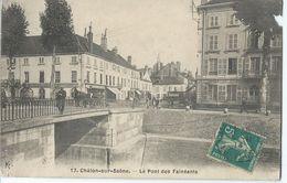 [71] Saône Et Loire > Chalons Sur Saone Le Pont Des Faineants - Chalon Sur Saone