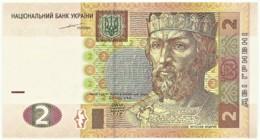 Ukraine - 2 Hryven - 2004 - Unc. - Pick 117.a - Yaroslav The Wise - Ukraine