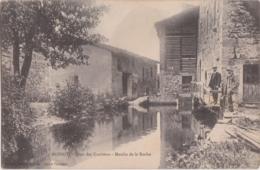 Ca - Rare Cpa MOINGT (Loire) - Pont Des Carrières - Moulin De La Roche - Francia