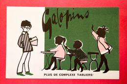 Buvard GALOPINS, Tabliers Pour Enfants, Salle De Classe - Vestiario & Tessile