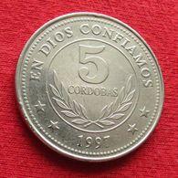 Nicaragua 5 Cordobas 1997 KM# 90 - Nicaragua