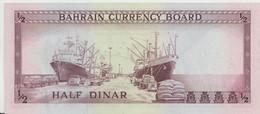 BAHRAIN P.  3a 1/2 D 1964 AUNC - Bahrein