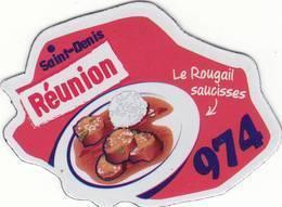 Magnet Le Gaulois Depart'aimant 974 Version 2017 - Publicitaires