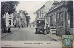RUE DE POISSY - LA POSTE - GARANCIÈRES - Other Municipalities