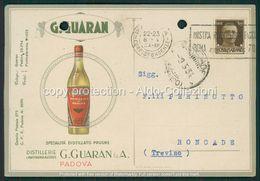 Padova Cartolina Pubblicitaria Distillerie Guarin FP P533 - Padova (Padua)