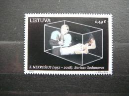 Contemporary Art Of Lithuania Theatre # Lietuva Litauen Lituanie Litouwen # 2019 MNH #Mi.1317 - Lituanie