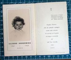 Necrologio Luttino - Bambino SILVANO DABORMIDA (nascita 1961 Morte 1965) Bubbio Asti - Obituary Notices