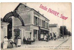 2 - CROSNES (S.-et-O.) - Maison JULIEN - Avenue De La République - Crosnes (Crosne)