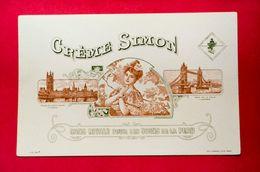 Buvard CRÈME SIMON, Palais De Westminster, Pont De La Tour, Londres - Perfume & Beauty