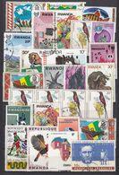 RWANDA. 2 Sides With Stamps. - Rwanda