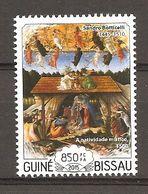 GUINEA-BISSAU - 2015 570° SANDRO BOTTICELLI Natività (National Gallery, Londra) Nuovo** MNH - Religieux