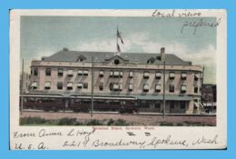 Vintage Postcard - Spokane (WA - Washington) - Terminal Depot - Spokane