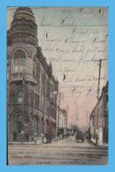 Vintage Postcard - Lake Charles (LA - Louisiana) - Calcasieu Bank - Pujo Street - Etats-Unis