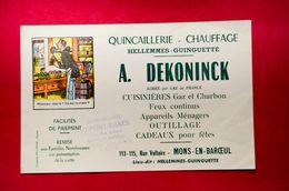 Buvard Quincaillerie-Chauffage DEKONINCK, Imagerie Pellerin Épinal, Tampon Dupont-Danes à Mons-en-Baroeul - Papel Secante