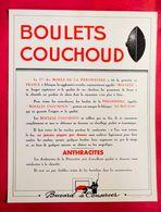 Grand Buvard 27 Cm X 21 Cm Charbon Boulet COUCHOUD - Papel Secante
