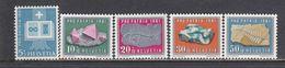 Switzerland 1961 - Pro Patria: Minerals, Mi-Nr. 731/35, MNH** - Suisse