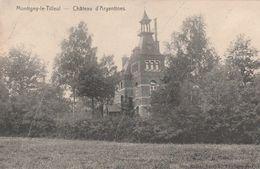 Montigny-le-Tilleul.  Château D'Argentines.   Scan - Montigny-le-Tilleul
