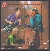 Austria 2003 - Musik: The Rolling Stones, Bl. 21, MNH** - Blocks & Sheetlets & Panes