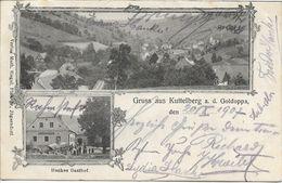 1907 - HOLCOVICE  Kuttelberg  Okres BRUNTAL , Gute Zustand, 2 Scan - Czech Republic