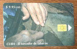 CUBA EL TORCEDOR DE TABACOS CIGARES ETECSA TELECARD TÉLÉCARTE PHONECARD - Cuba